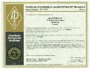 Certificate API 5CT